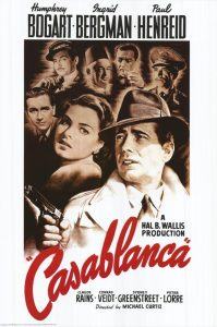 Nos 100 films romantiques préférés - Casablanca