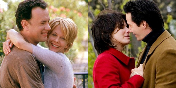 Tom Hanks Meg Ryan Sandra Bullock Keanu Reeves