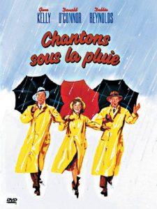 Chantons sous la pluie - affiche