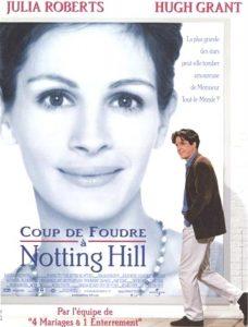 Top 100 des films romantiques - Coup de foudre à Notting Hill