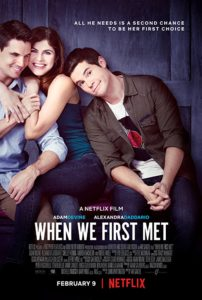 When We First Met affiche