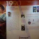 Exposition Harlequin 40 ans (Salon du Livre 2018) - 1990