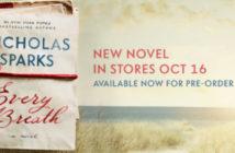 On en sait enfin plus sur le nouveau roman de Nicholas Sparks