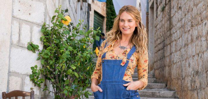 L'héroïne de la semaine : Lily James, badass à la voix d'ange