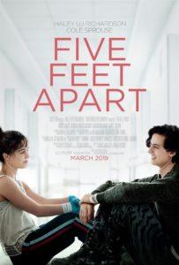Five Feet Apart affiche